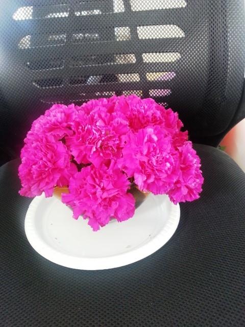 花束から切り出した生け花1