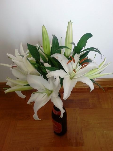 花束から切り出した生け花2
